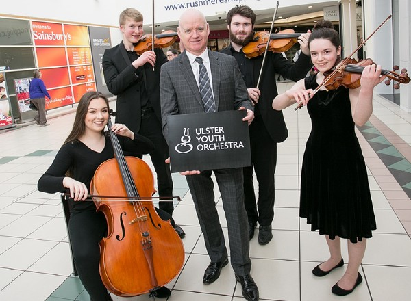 Ulster Youth Orchestra at Rushmere Shopping Centre