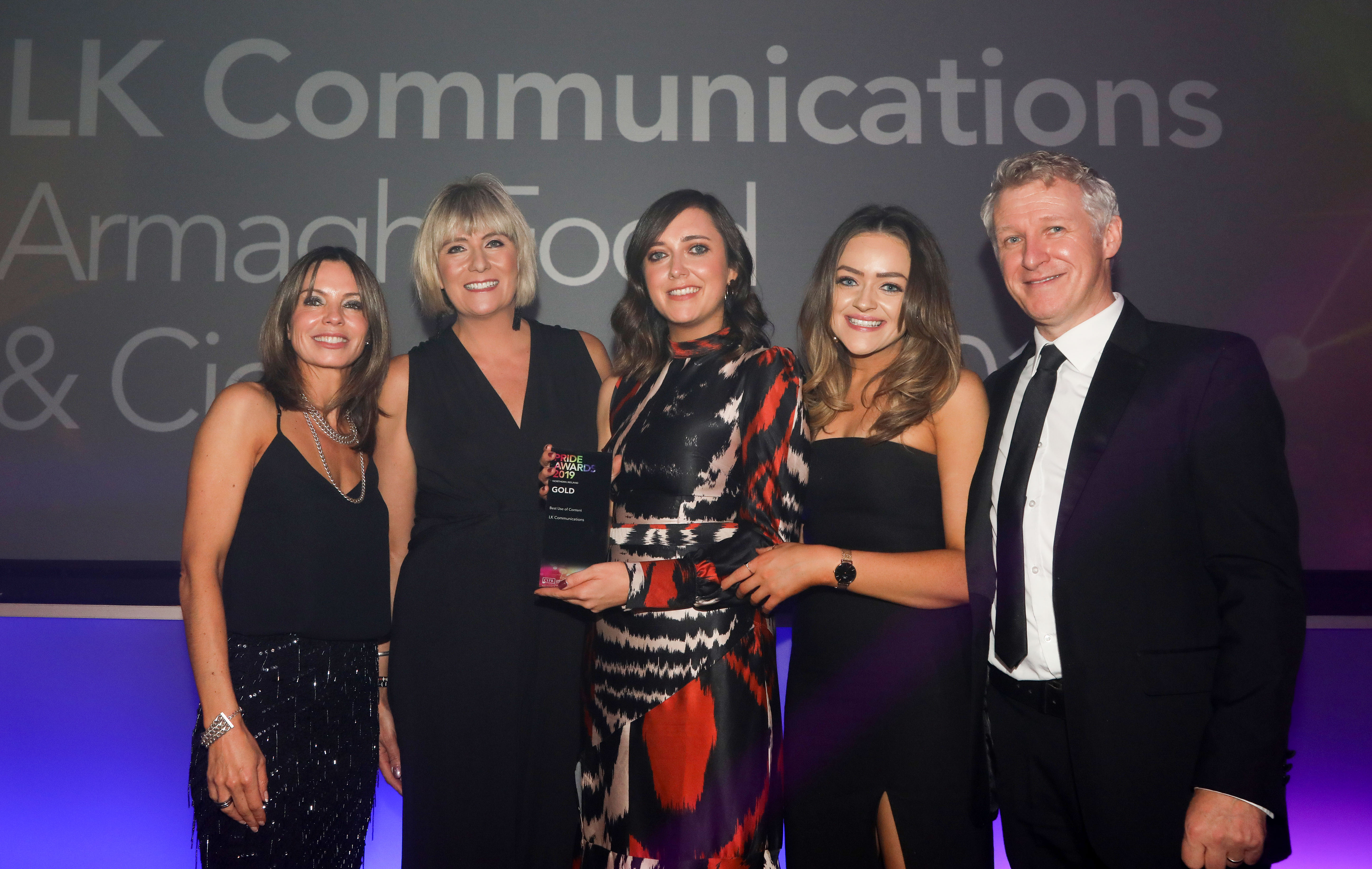 Triple Win for LK at CIPR Awards